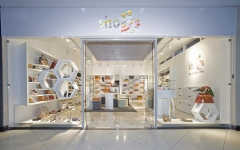 shop concept for Russian chain of stores SHOES.RU