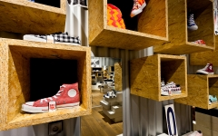 SOUL - new shop concept for a chain of stores  (shoes: CAT, Converse, Merrell and others)
