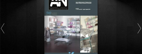 Our shop concept spotted by the leading retail magazine from Italy