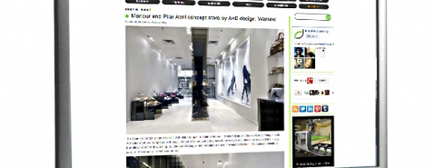 Post in Retail Design Blog - shop concept for Menbur / Pilar Abril
